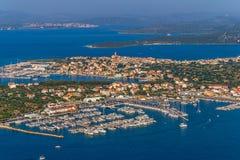Murter aerial Stock Photo