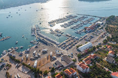 Murter aerial Stock Photography