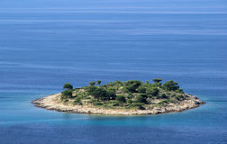 Murter Insel vor der Insel Lizenzfreie Stockbilder