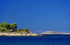 Murter island before the island 11 Stock Image