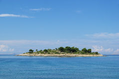 Murter island before the island Royalty Free Stock Photography