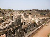 Murud Janjira堡垒 免版税库存图片