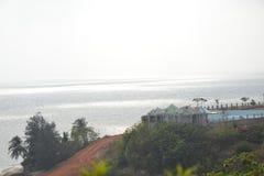 Murudeshwar strand Arkivfoton
