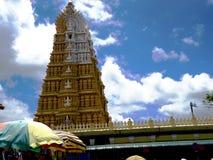 ` Murudeshwara `寺庙一个印度神 免版税图库摄影