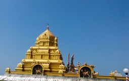 Murudeshwara-Tempel kundapura eshwar beachshore stockbild
