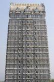 Murudeshwara temple gopuram. In India in Gokarna in the blue sky background Stock Image