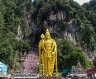 Murugan阁下雕象在黑风洞,吉隆坡 图库摄影