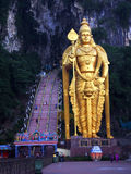 Murugan,被找出的外部黑风洞世界的最高的雕象  免版税图库摄影