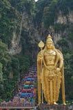 Murugan statua, Batu jama, Selangor, Malezja zdjęcie royalty free