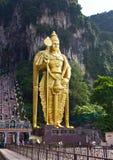 Murugan statue at the Batu Caves, Kuala Lumpur Stock Images