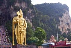 Murugan statue at the Batu Caves, Kuala Lumpur Stock Photos