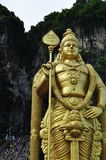 Murugan Statue. Closed up view of the gigantic murugan statue Royalty Free Stock Images