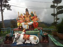 At Murugan Temple Penang Hill Royalty Free Stock Images