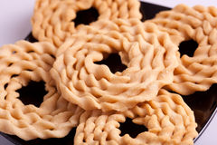 Murukku is a savoury snack from India Stock Photo