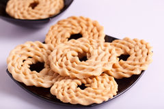 Murukku is a savoury snack from India Royalty Free Stock Image