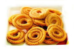 Muruku - Popular South Indian Deep Fried Snack Stock Photo
