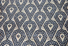 Murut woven mat pattern Royalty Free Stock Images