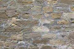 Murverk Walled stad av Baku Arkivfoto