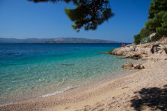 Murvica beach Royalty Free Stock Photos