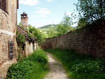 mury miasta Obrazy Royalty Free