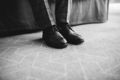 Murzynów buty zdjęcia royalty free