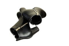 Murzynka buty Zdjęcie Stock