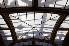 Musée De Cluny skylight zdjęcia royalty free