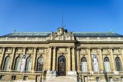 Musée d'Art和d'Histoire在日内瓦 库存照片