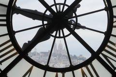 Musé e d'Orsay Klok Royalty-vrije Stock Afbeelding