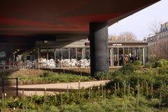 Musée du quai Branly in Parijs Royalty-vrije Stock Foto