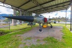 Musée aérospatial Quito Equateur de Frances du mirage F 1 Photos libres de droits