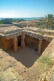 Musée archéologique dans Paphos sur la Chypre Image stock