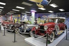 Musée automatique de Miami à la collection de Dezer d'automobiles et d'évènements mémorables relatifs image libre de droits