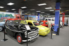 Musée automatique de Miami à la collection de Dezer d'automobiles et d'évènements mémorables relatifs image stock