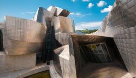 Musée Bilbao de Guggenheim image stock