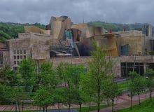 Musée Bilbao, Espagne de Guggenheim Image libre de droits