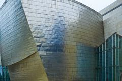 Musée Bilbao, Espagne de Guggenheim Images stock