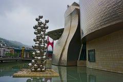 Musée Bilbao, Espagne de Guggenheim Photographie stock