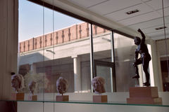 Musée bizantin de Salonique Photos stock