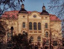 Musée Brunswick de ville image stock