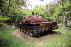 Musée Cambodge de guerre Photographie stock