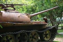 Musée Cambodge - réservoir de guerre Photo libre de droits