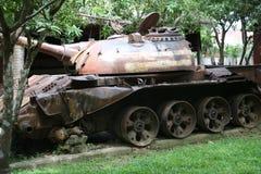 Musée Cambodge - réservoir de guerre Images libres de droits