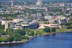 Musée canadien de l'histoire, Gatineau, Québec images stock