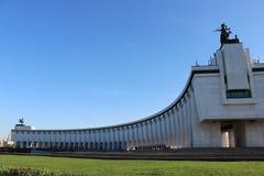 Musée central de la deuxième guerre mondiale grande à Moscou Image libre de droits