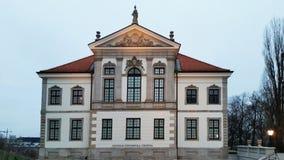 Musée Chopin de Chambre à Varsovie le soir poland images libres de droits