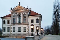 Musée Chopin de Chambre à Varsovie le soir poland photos stock