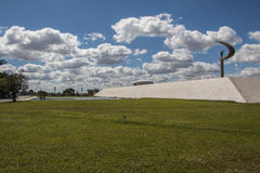 Musée commémoratif de JK - Brasilia/DF photo stock