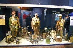 Musée commémoratif de la bataille de la Normandie. image stock