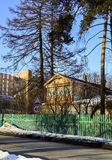 Musée commémoratif du poète et de l'auteur russes Andrey Bely dans Kuchino, région de Moscou Photos stock